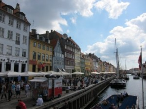 View of Copenhagen (Nyhavn)
