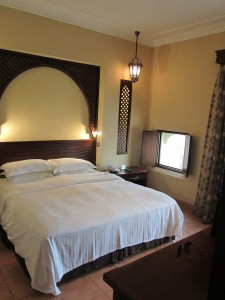 Master bedroom in villa...