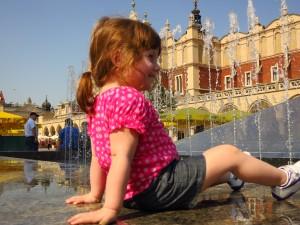 Chillin' in Krakow, Poland (June, 2012)
